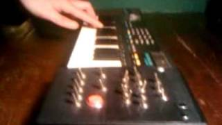 Circuit bent Casio Sk-1. calling aliens in parallel dimensions