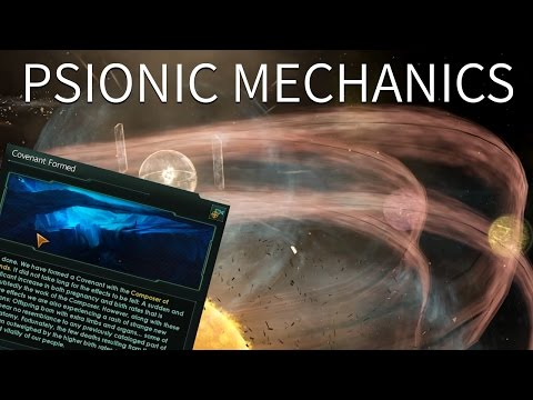 Stellaris - Psionic Ascension Mechanics & The Shroud (Let the Warp overtake you, It's a good pain)