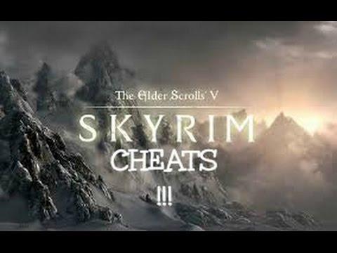 Skyrim elder scrolls V Cheats PC ONLY
