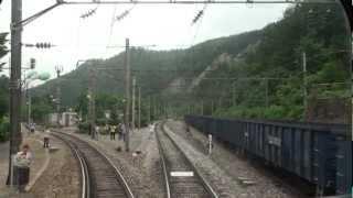 [FULL HD] 한국철도 스위치백 마지막날 주행영상(상행)