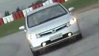Test Drive Honda Civic SI