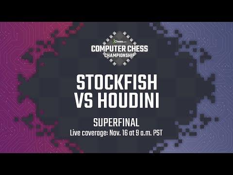 Computer Chess Championship Superfinal: Stockfish Vs Houdini