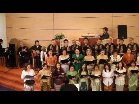 GKIN Amstelveen koor zingt : Sakjege Aku Ndherek Gusti