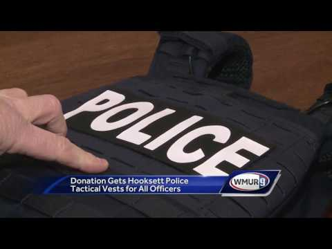 Donation allows all Hooksett police officers to get tactical vests