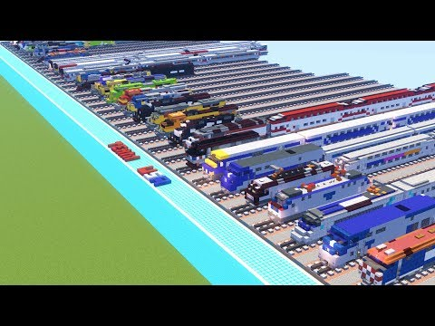69 Minecraft Trains Collection Review