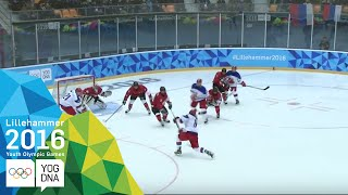 Ice Hockey - ​Men's Preliminaries - Canada vs Russia | ​Lillehammer 2016 ​Youth Olympic Games​