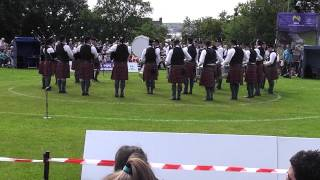Police Service of Northern Ireland Pipe Band All Ireland 2013
