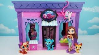 LPS en espanol- La tienda de mascotas - Juguetes Littlest Pet Shop