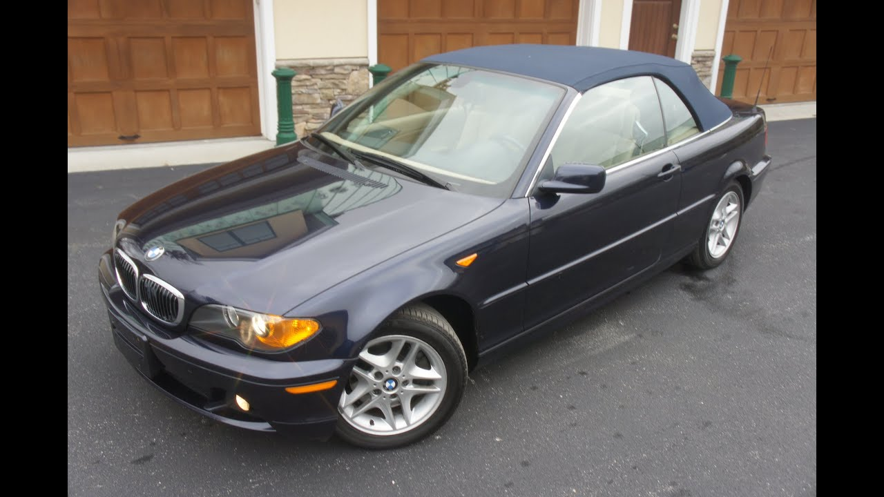 2004 bmw 325ci convertible for sale low miles heated. Black Bedroom Furniture Sets. Home Design Ideas