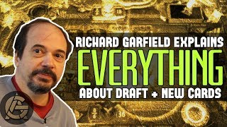 Artifact Draft as Explained by Richard Garfield + New Cards!