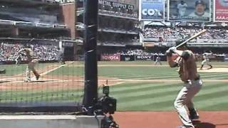Adrian Gonzalez Longest Home Run ever hit at Petco Park