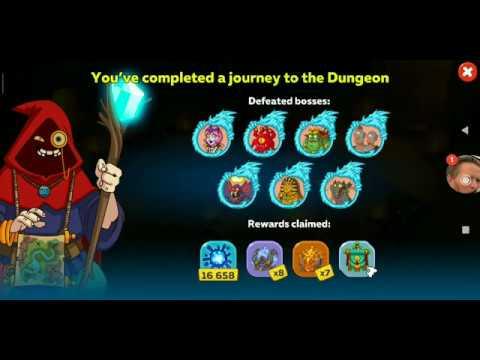 Hustle Castle Full Boss Dungeon Run