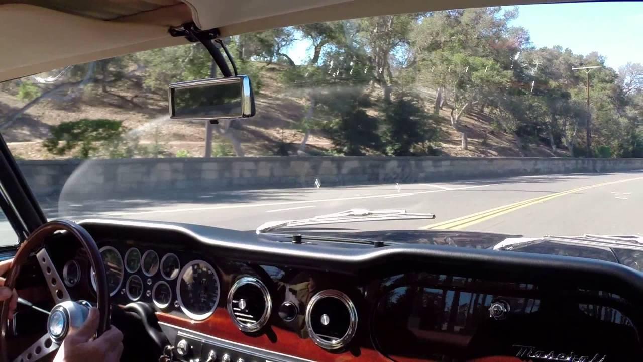 1969 Maserati Mexico 4.7 - YouTube