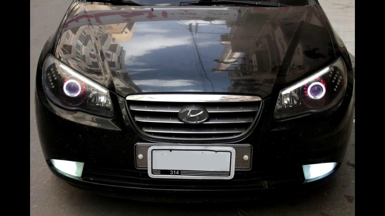 Hyundai Elantra 2008 Headlights  3