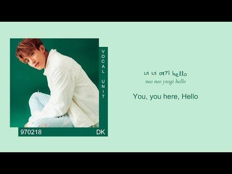 SEVENTEEN (세븐틴) - JUN & DK & MINGYU - HELLO (Color coded Han/Rom/Eng lyrics/가사)