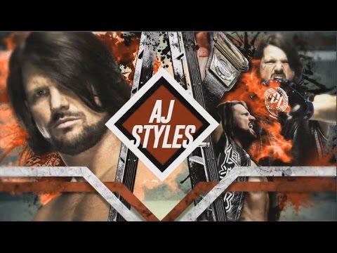 TLC 2016 - AJ Styles vs. Dean Ambrose - Official Match Card FULL HD