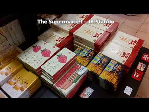 Souvenir shop at Sapporo JR Station ,Hokkaido Japan