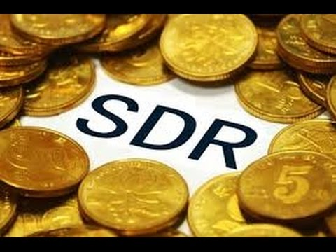 SDR  special drawing rights....IMF