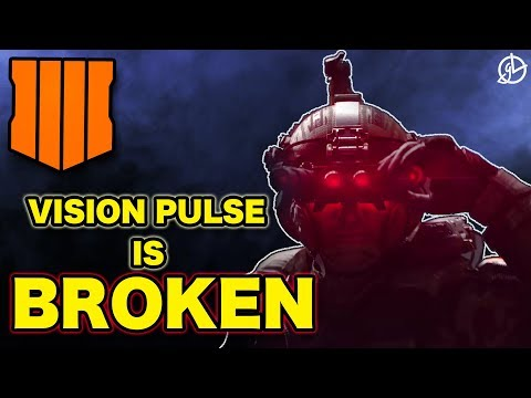 VISION PULSE Is BROKEN! BEST ABILITY In Call Of Duty Black Ops 4