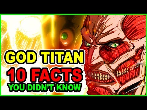 10 Colossal Titan Facts YOU Didn't Know! | Attack on Titan Facts