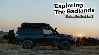 Dispersed Camping in Soขth Dakota's Badlands! 4Runner Overland Adventure