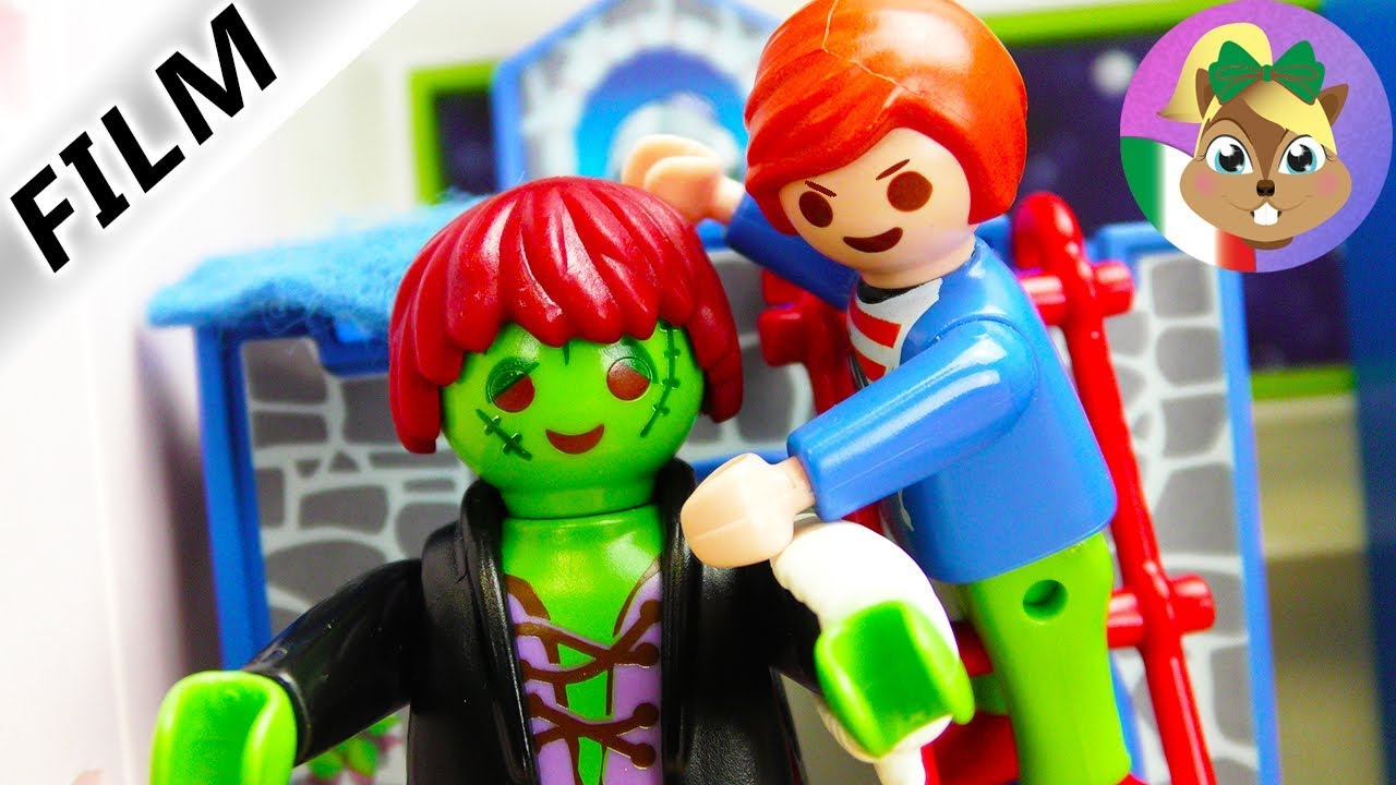 Film Di Halloween Per Bambini.Playmobil Film La Notte Di Halloween Frankie Ha Paura Dei Bambini E Molly Ritorna