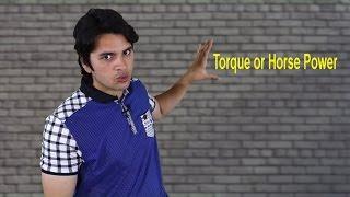 [ Hindi-हिन्दी ] Horse Power vs Torque