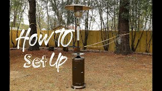 How To Use Setup Outdoor Patio Heater Easy Simple