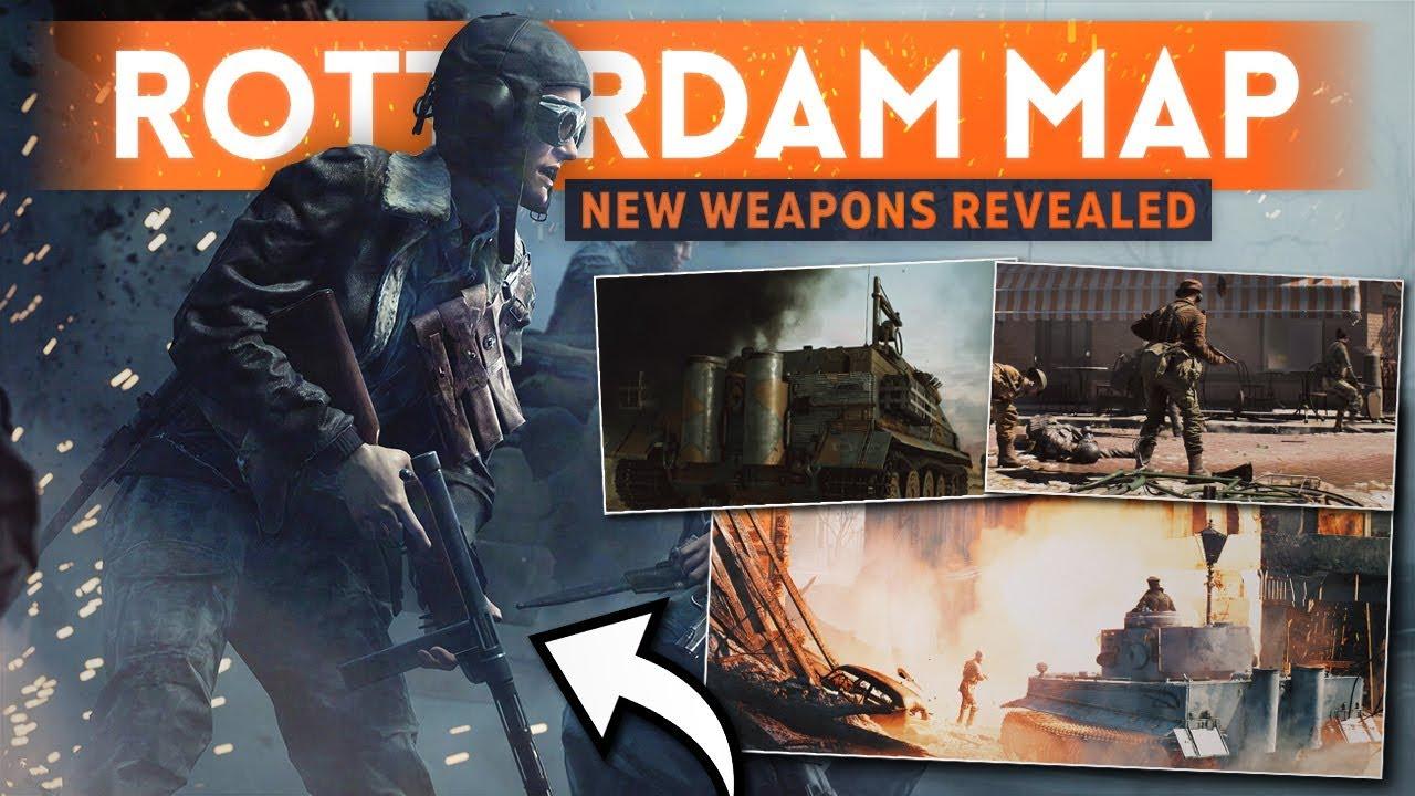 "*NEW* ROTTERDAM MAP & WEAPONS REVEALED! - Battlefield 5 ""Devastation of Rotterdam"" Teaser Trailer"
