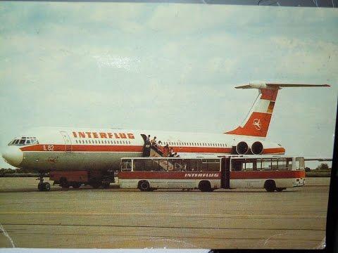 """""""Treffpunkt flughafen"""" - il-62 """"Interflug"""" crew adventures."""