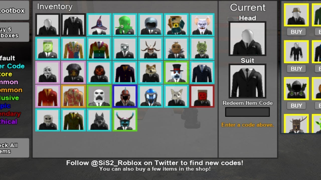 stop it slender roblox codes