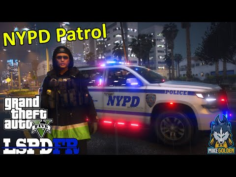 NYPD Patrol In A Chevy Suburban - (NaturalVision Evolved) | GTA 5 LSPDFR Episode 529