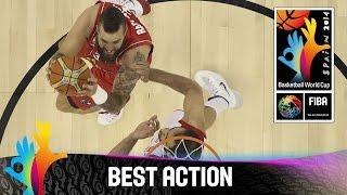 Iran v Serbia - Best Action - 2014 FIBA Basketball World Cup