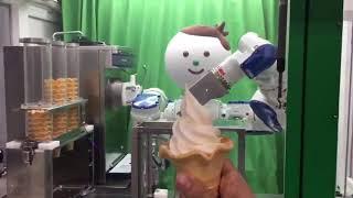 ソフトクリームを自動で作ってくれる便利なマシン チャンネル登録よろし...