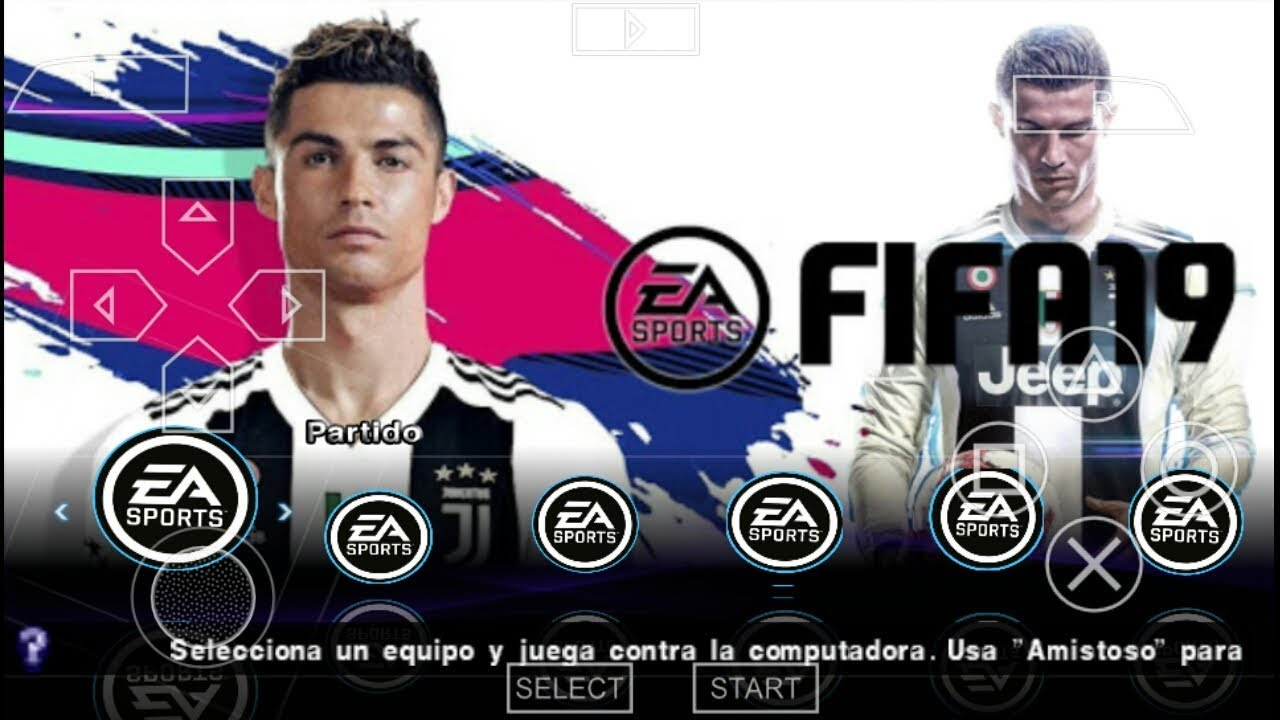FIFA 19 MOD PES 2019 CAMERA PS4 PPSSPP ANDROID DOWNLOAD CRISTIANO RONALDO  JUVENTUS