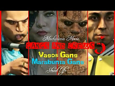 Gangs and Crews 5. The movie Marabunta Gang and Vagos Gang (18)