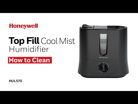 Honeywell Top Fill Cool Mist Humidifier HUL570 - How to Clean