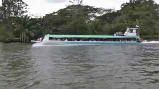 THE SLOW BOAT TRANSPORT- RIO SAN JUAN- NICARAGUA!!! AWESOME RIDE!!