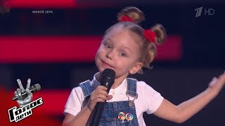"Anastasia Bolshakova ""Dropout Wizard"" - Blind Auditions - The Voice Kids Russia - Season 6"