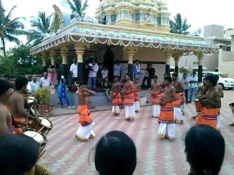 Sri Shabari Chende troup @ Chikamagalur