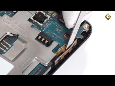 Samsung Wave Y S5380 - как разобрать смартфон, из чего он состоит