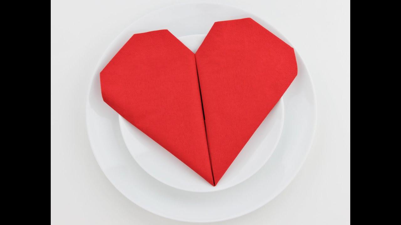 11 Best Napkin Folding Ideas - How to Fold Fancy Napkins Videos | 720x1280