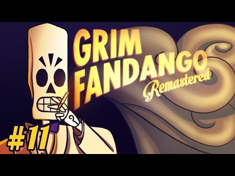 Let's Play : Grim Fandango Remastered ►THEY ALL FALL LIKE DOMINO | #11