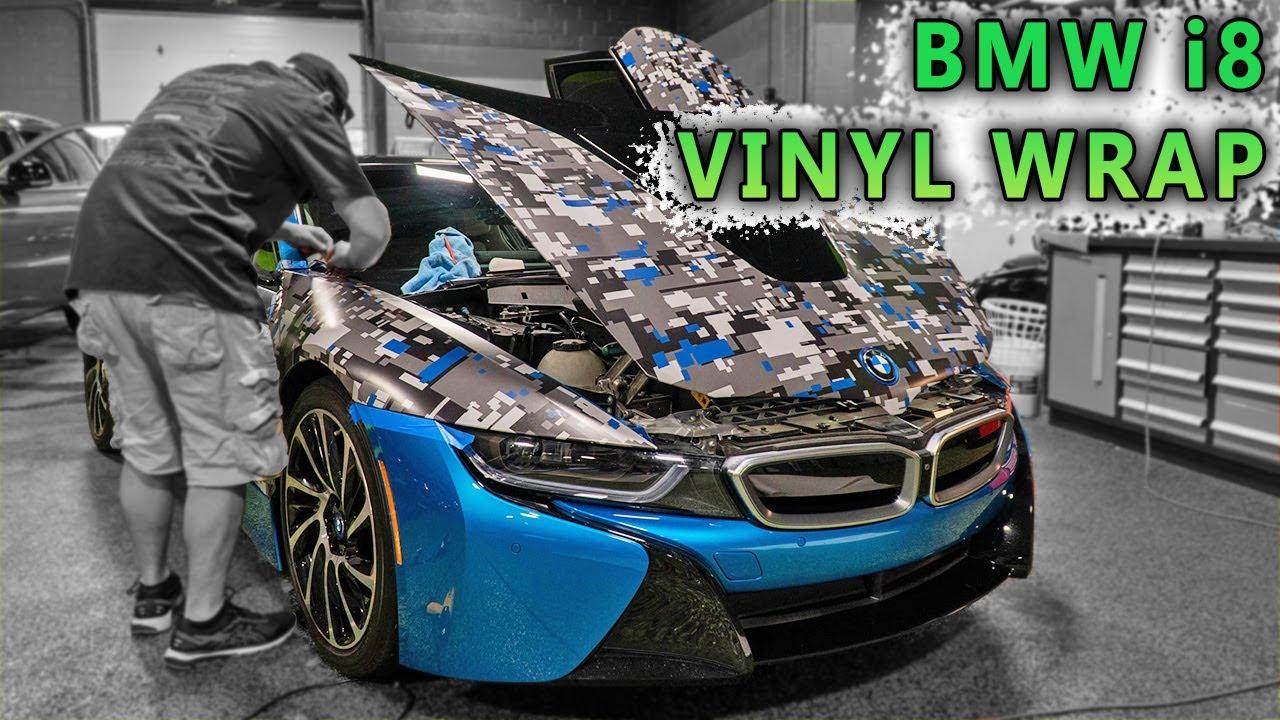 BMW i8 VINYL WRAP