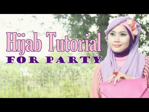 Tutorial Hijab Simple | Tutorial Hijab Pesta Vemoza by Didowardah #2
