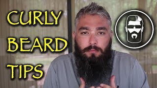 Tips for Curly Beards