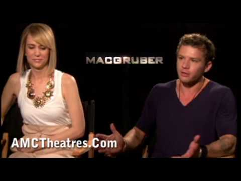 """MacGruber"" - AMC Talks with Kristen Wiig and Ryan Phillippe"