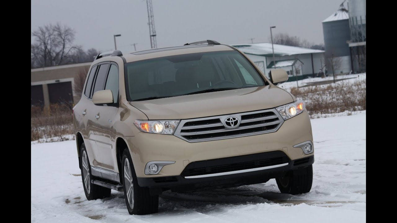 2012 toyota highlander review by automotive trends youtube. Black Bedroom Furniture Sets. Home Design Ideas