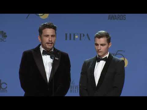 James & Dave Franco  2018 Golden Globes  Full Backstage