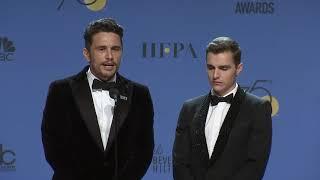 James & Dave Franco - 2018 Golden Globes - Full Backstage Interview